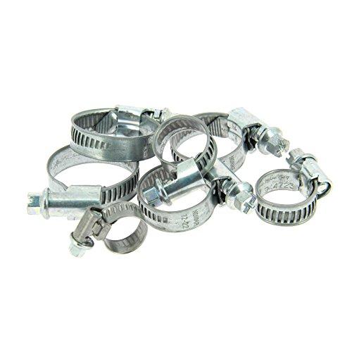 XL Tech 212022 7 Colliers cercle de Serrage, diamètre 8 à 27 mm