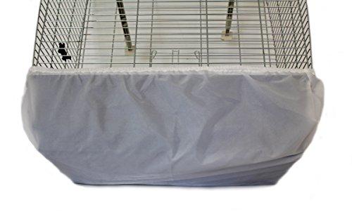 Cosipet Oblong Cage Bien Rangé, XL, Blanc