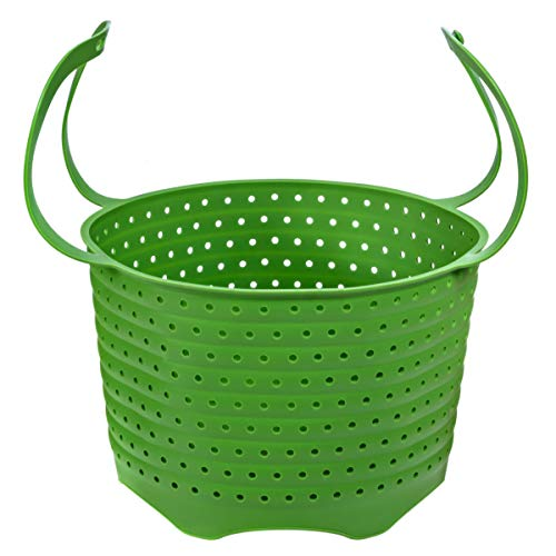 Silicone Steamer Basket | Foldable, Space-Saving | Fits 6,8 Qt Instant Pot and Other Similar-Sized Pressure Cookers Accessories