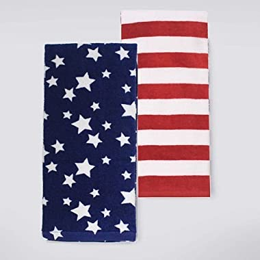 Stars & Stripes Kitchen Towel 2-pk