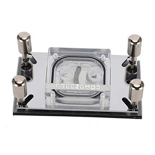 Base de Cobre del Bloque de Agua del Ordenador del Bloque de la Refrigeración por Agua de la CPU con el Canal Micro