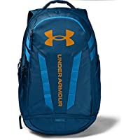 Under Armour UA Hustle 5.0 Backpack (Graphite Blue (581)/Golden Yellow)