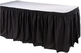 Phoenix 21-1/2 英尺桌裙,衬衫,黑色