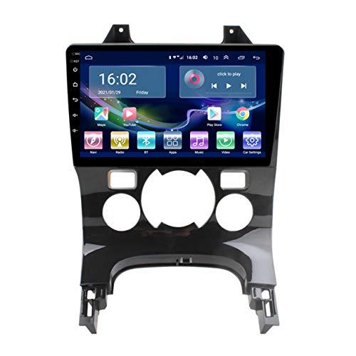 Navigazione per auto, 4G LTE 2G RAM Android 10 per Peugeot 3008 2009-2013, autoradio con lettore multimediale, touch screen 2.5D, con telecamera di retromarcia,4g+wifi 1g+32g/ac