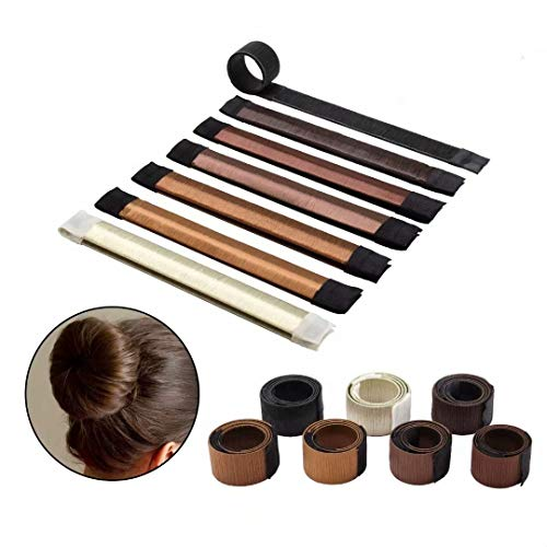 7 Pcs Donut Bun Maker, Hair Band Accessory,Hair Bun Making Styling