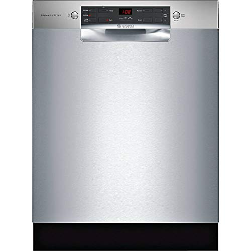 Bosch 300 Series 24' Stainless Steel Built-In Dishwasher