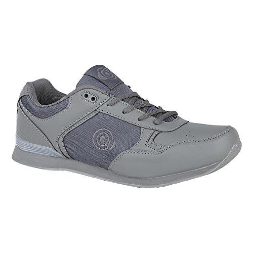 Dek Herren Bowling-Schuhe Geometric (45 EU) (Grau)