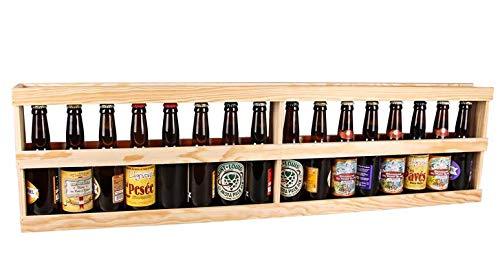 Mètre de biere en bois 16 bières artisanales françaises