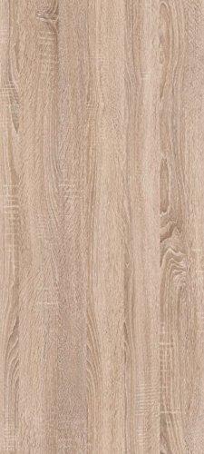 trendteam SV48145 Wandboard Eiche Sonoma hell, BxHxT 134x24x24 cm - 4