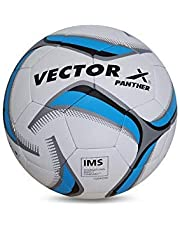 Vector X Panther Thermofusion Football (White-Sky) (Size-5)