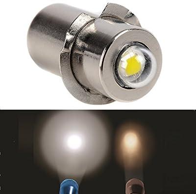 PR P13.5S 1W 100LM DC 3V CREE LED Upgrade Bulb Replacement For DEWALT Flashlight Torch Tooling Lantern Work Light Maglite LED Conversion Kit