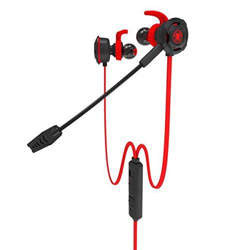 YAJIWU Cargador inalámbrico Qi para auriculares, alfombrilla de carga 2 en 1, resistente y estable, cargador inalámbrico integrado para todos los dispositivos Qi, negro (color: rojo)