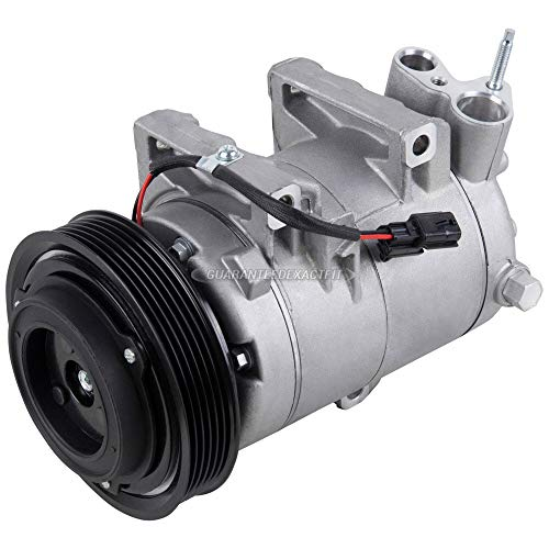 AC Compressor & A/C Clutch For Nissan Rogue 2008 2009 2010 2011 2012 2013 2014 2015 2016 - BuyAutoParts 60-02395NA New