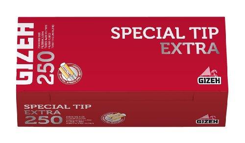4x Karton 250er, 1000 Filterhülsen Special Tip Extra von Gizeh