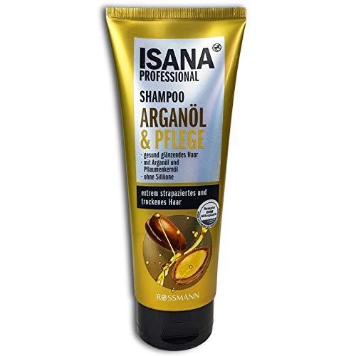 ISANA Professional Shampoo & Pflege mit Arganöl, f. strapaziertes trockenes Haar