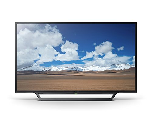 "Sony KDL32W600D 32"" 720p Smart LED TV - Black"