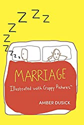 marriage by amber dusick book cover illustrated with crappy pictures