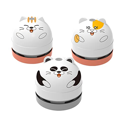Mini Aspiradora-Desmontable Carga USB Boquilla de Vacío Cepillo-Aspiradora de Polvo de Mesa Portátil Limpiador para Teclado Coche Escritorio