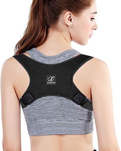 Posture Corrector For Men And Women - Back Brace For Upper Back Pain Relief - Best Fully Adjustable Support Brace