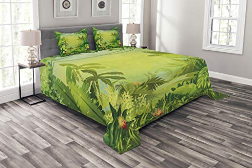 Green Nature Bedspread
