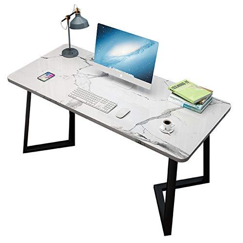 XIALIUXIA Escritorio Compacto Impermeable para Computadora, Escritorio Pequeños Espacios con Patas De Metal, Escritorio De Oficina