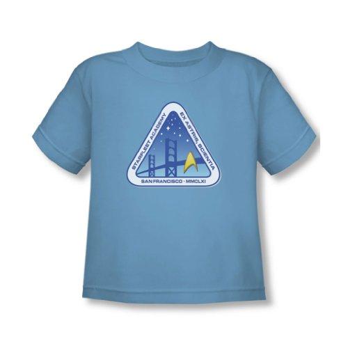 Star Trek - - Toddler Couleur Logo T-shirt En Caroline du bleu, 2T, Carolina Blue