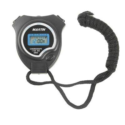 JSANSUI Countdown-Stoppuhr-Timer Digitale Hand-Stoppuhr mit Datum/Uhrzeit/Wecker (Grösse: 65x72x15mm)