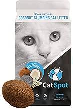 CatSpot Clumping Litter: Coconut Cat Litter, 100% All-Natural, Lightweight & Dust-Free (Clumping, 1 Bag)