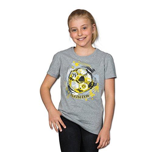 BVB Mädchen T-Shirt Torjägerin, mehrfarbig, 152, 2466439