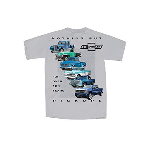 Collections Etc Men's Cars and Trucks Evolution Short Sleeve Graphic T-Shirt Chevy Pick UPS X-Large