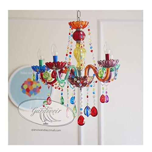 Spinnen WFL-Doration verlichting kandelaar EU-kaars kinderkamer lamp slaapkamer decoratie (kleur karamel) [energie-efficiëntieklasse A++]