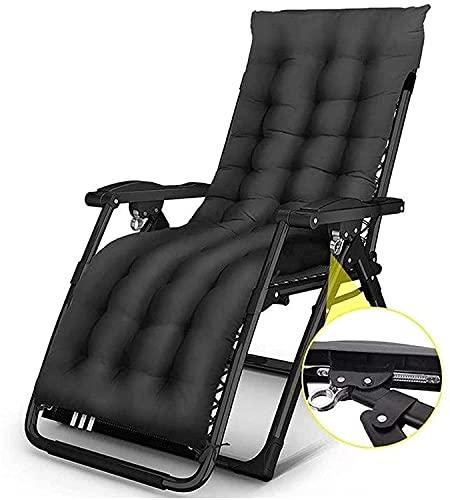 TAIDENG Silla de salón reclinable sillas Plegables al Aire Libre Ligero sobre