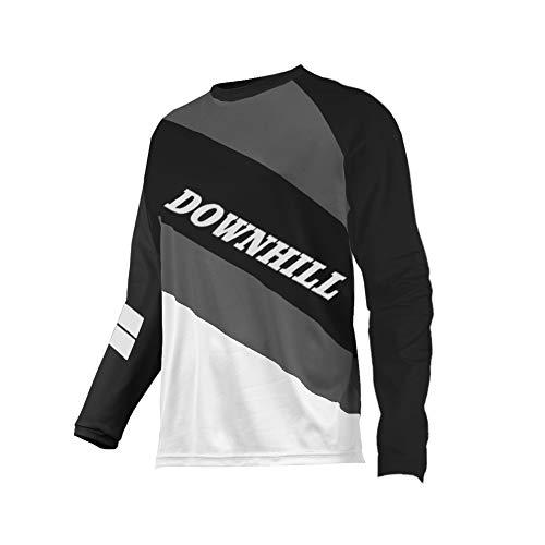 Uglyfrog Fahrradbekleidung Winter Fleece Warm Element Jung Mode MX Jersey Shocker Farbe Motocross Enduro Cross Motorrad Downhill Shirt Langarm Motorräder Schutzkleidun Innen