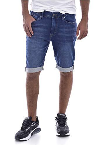 Teddy Smith SCOTTY 3 REG Short/Bermuda Homme, Bleu (Vintage/Indigo 307), W38