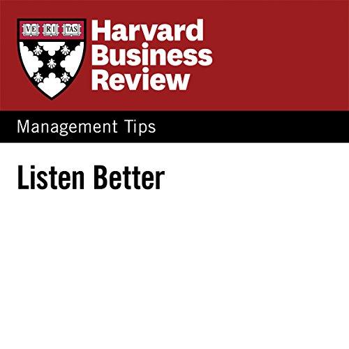 Listen Better audiobook cover art