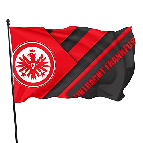 Eint-Racht Fran-Kfurt Familienfahne Gartenflagge Gartenflagge bedruckt Welcome Partyfahne Dekofahnen Wettkampffahnen