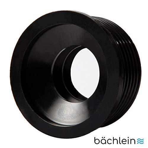 Bächlein Universal Gummimanschette Siphon für Abflußrohr - Ø 50 mm x 32 mm, Ablaufdichtung Wandrosette Siphonmanschette