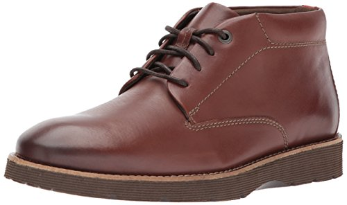 Clarks Men's Folcroft Mid Chukka Boot, Dark Tan, 13 M US