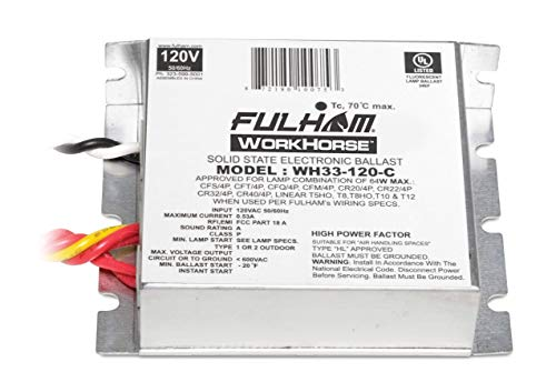 Fulham Lighting Fulham Workhorse Adaptable Ballast, WH33-120-C