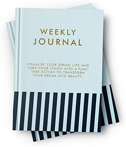 """Hardcover 52 Weekly Planner Best Self Journal - 6"""" X 8.5"""" Undated Business Planners Goal Cultivate an Attitude of Gratitude, Productivity and Happiness"""