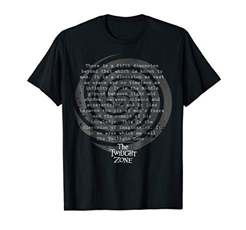 Twilight Zone Opening Narration Quote Graphic T-Shirt