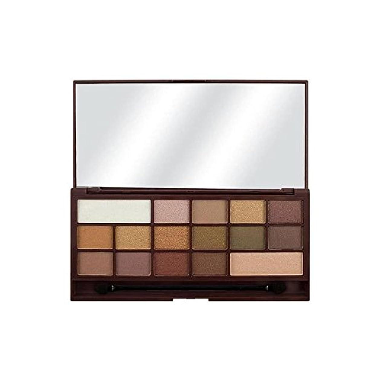 樫の木苦しめるヶ月目私の心金色のバーのアイシャドウパレット x4 - I Heart Golden Bar Eyeshadow Palette (Pack of 4) [並行輸入品]