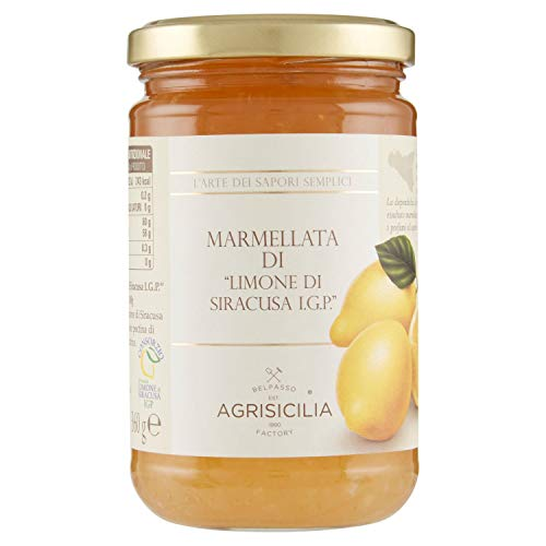Agrisicilia AGR064 Marmellata di Limoni di Siracusa IGP - 360 g