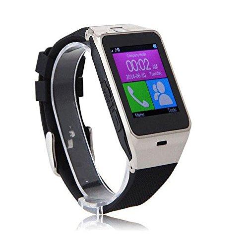 Smartwatch, s GV18 Smart Bluetooth 3.0 NFC Waterdichte Horloge Telefoon Camera TF Kaart Polshorloge voor Smartphones IOS Android Apple iphone 5/ 5C/ 5S /6/6 Plus Android Samsung S3/ S4/ S5/ S6/ S6 Edge Note 2, Zwart