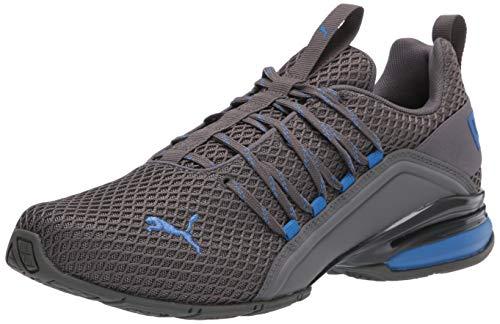 PUMA Men's Axelion Spark Cross-Trainer, Castlerock-Palace Blue, 11 M US