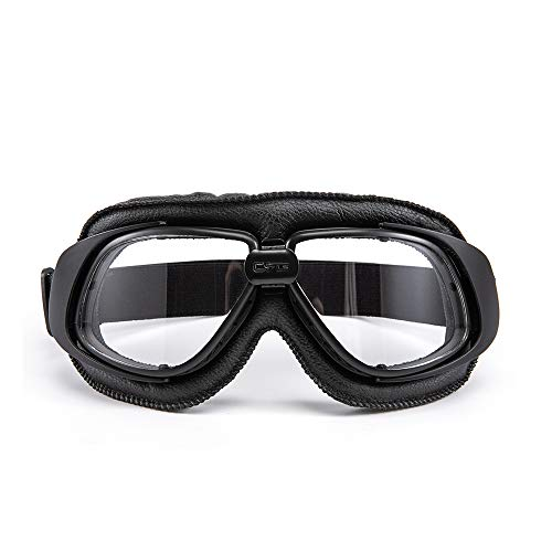 evomosa Occhiali da moto Protezione per gli occhi antivento per Motocross Cruiser Scooter Biker Racer Cruiser Touring Goggle Occhiali da sci (03)