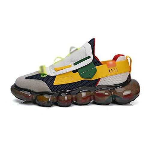 LJFZMD Zapatillas Deportivas,Casual Zapatos Nuevos Zapatos Deportivos De Gimnasio Ligeros Masculinos Para Hombres Zapatillas De Deporte De Estabilidad Física Zapatillas De Tenis Para Hombres,B,EU36