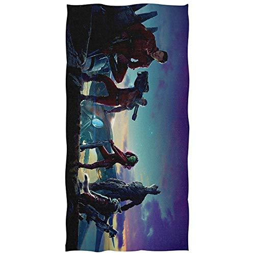 Leo-Shop Guardians of The Galaxy Toalla de baño Toalla de Playa de Gran tamaño 51 Pulgadas x 32 Pulgadas Uso como Yoga Viaje Camping Gimnasio Toallas de Piscina