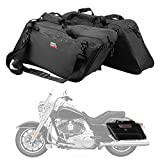 Street Glide Saddlebags Liner Bag, 1 Pairs of Motorcycle Hard Saddle Bags Insert Travel Luggage for Electra Glide Road King