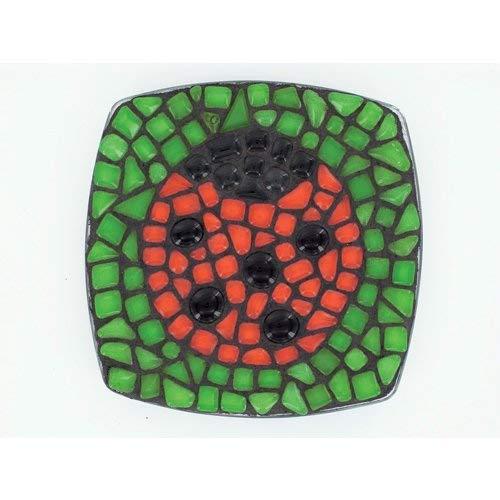 Artemio lieveheersbeestje Virginie Loy, mozaïek, meerkleurig, kleur